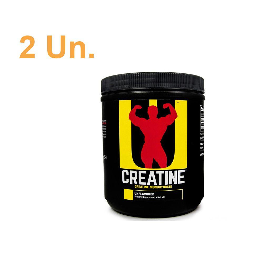 2 unidades Creatina 200g - Universal Nutrition