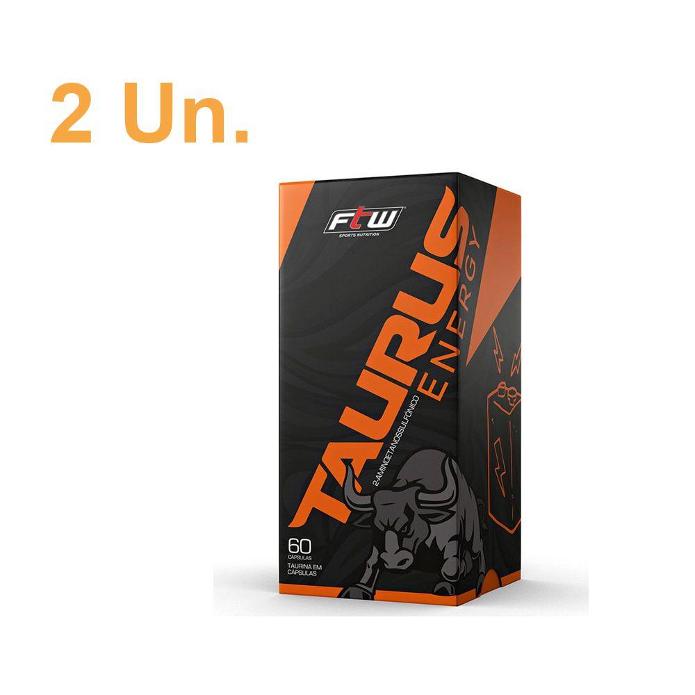 2 unidades Taurus Energy 60 cápsulas - FTW