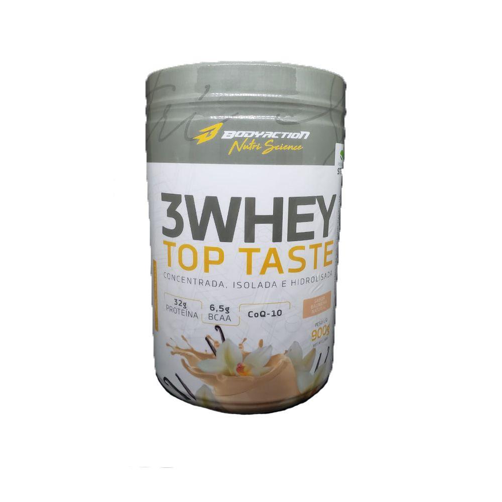 3 Whey Top Taste (900g) - Body Action