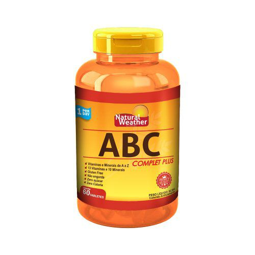 ABC Complet Plus (60 tabs) - Natural Weather