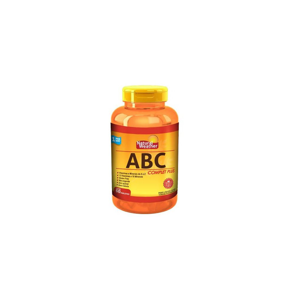 ABC Complet Plus 60 tabs - Natural Weather