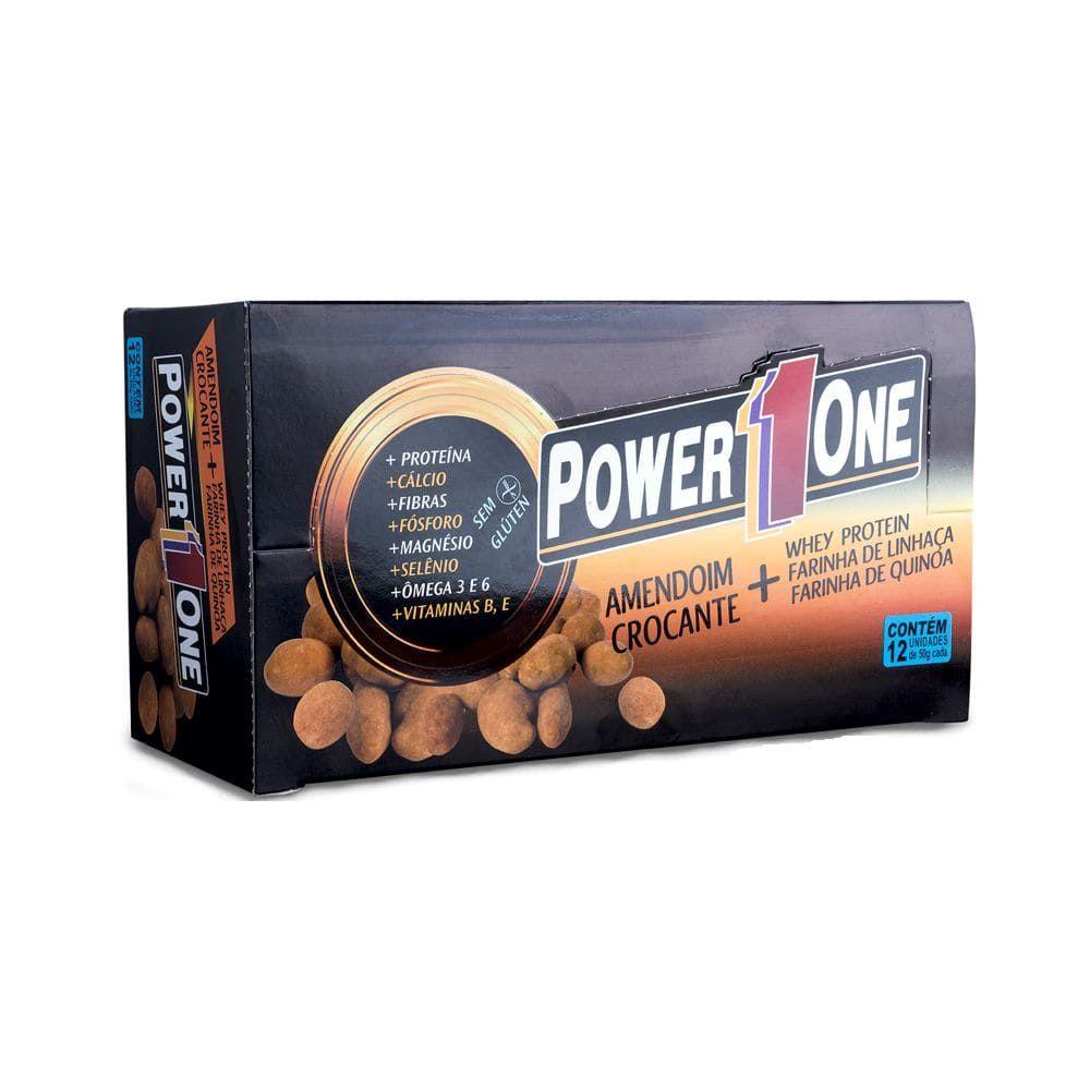 Amendoim Protéico (01 unidades de 50g) - Power One