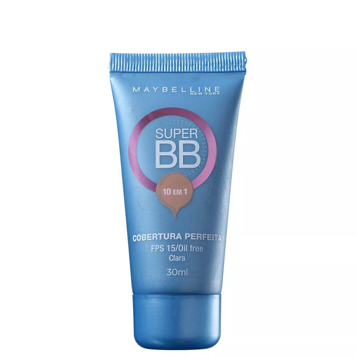 Base Super BB Cream Maybelline - Claro ? FPS15 - 30ml