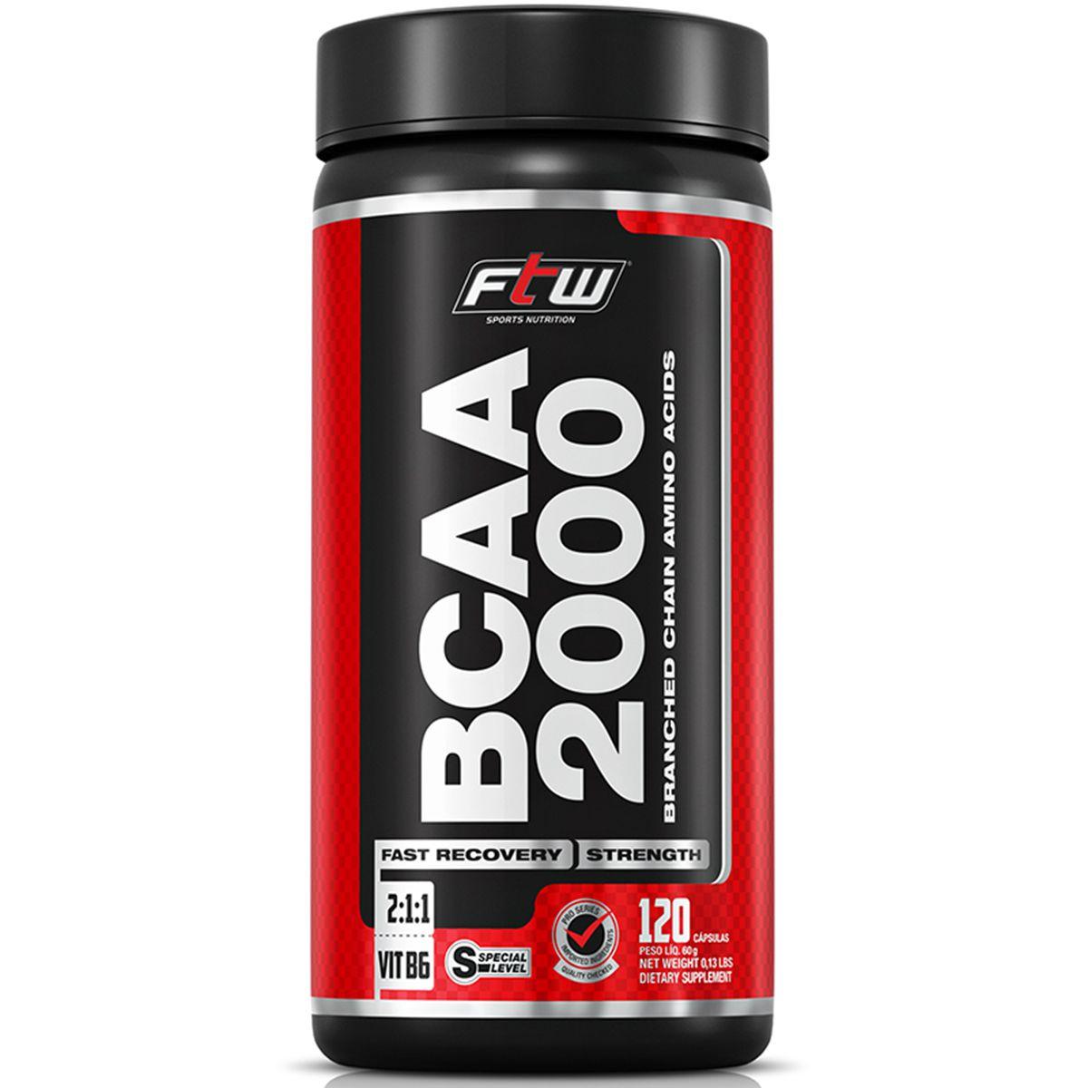 BCAA 2000 (120 caps) - FTW