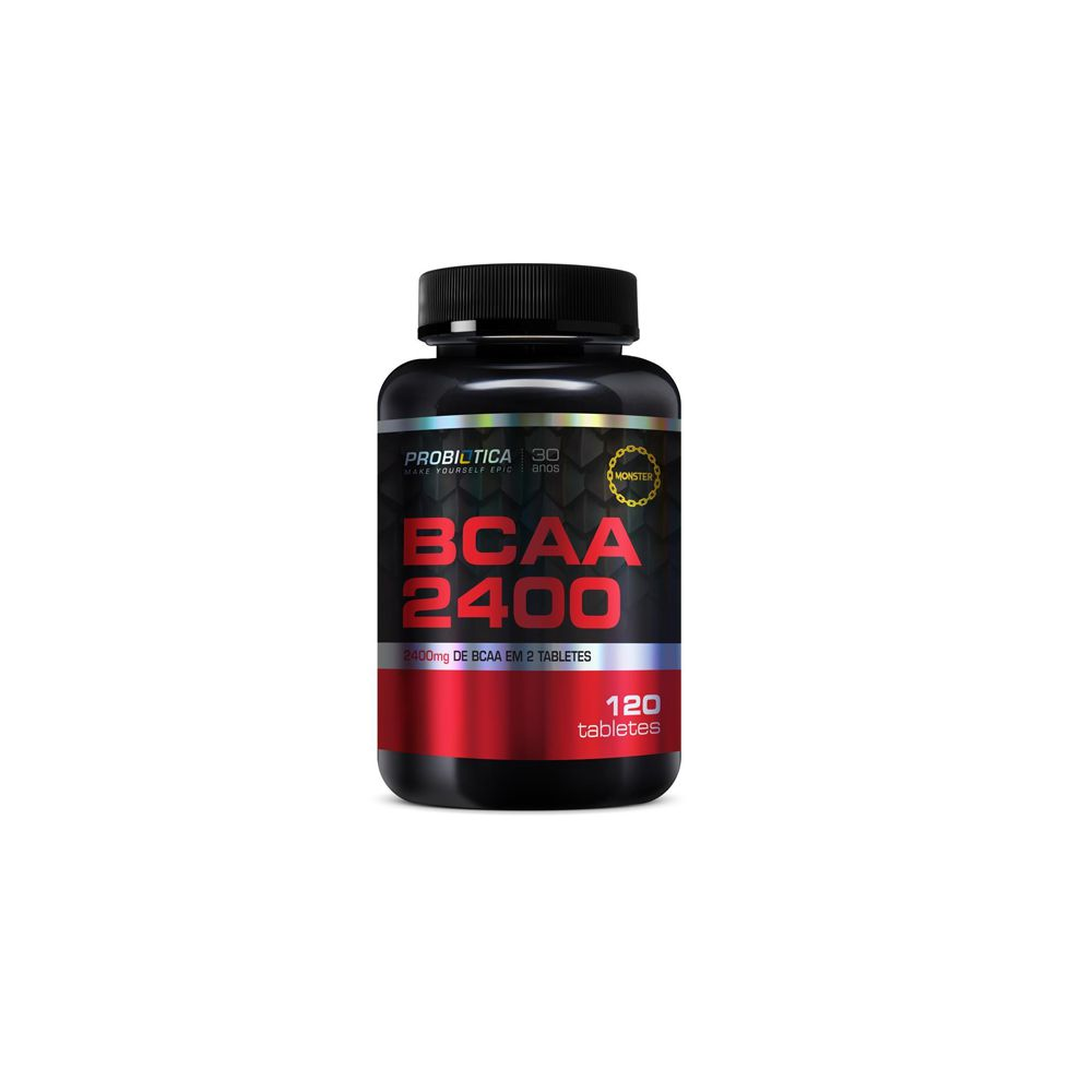 BCAA 2400 120 tabs - Probiótica