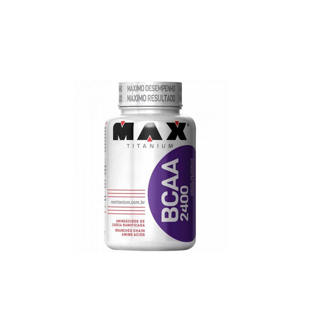 BCAA 2400 200 caps - Max Titanium