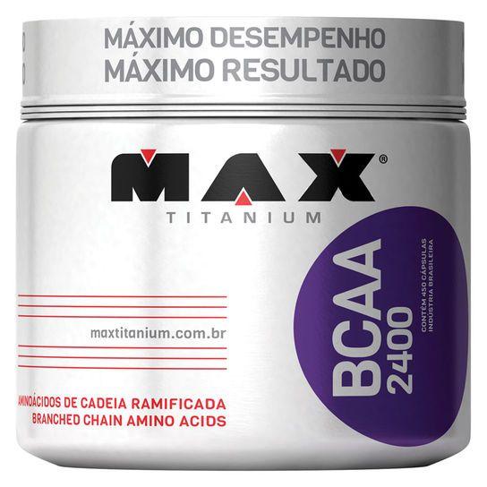 BCAA 2400 (450 caps) - Max Titanium