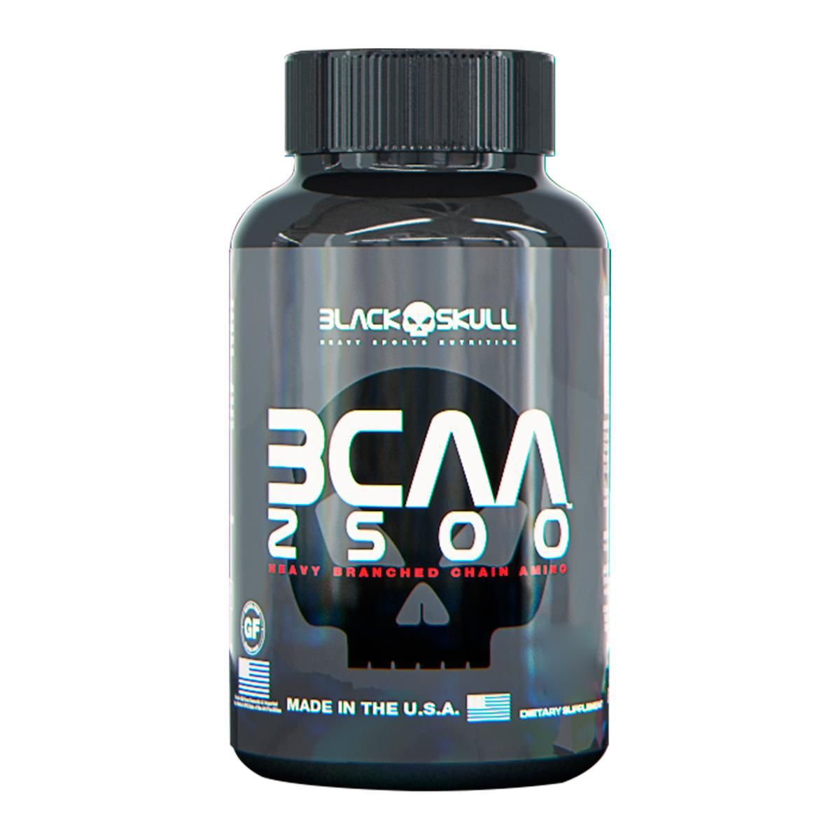 BCAA 2500 (120 caps) - Black Skull