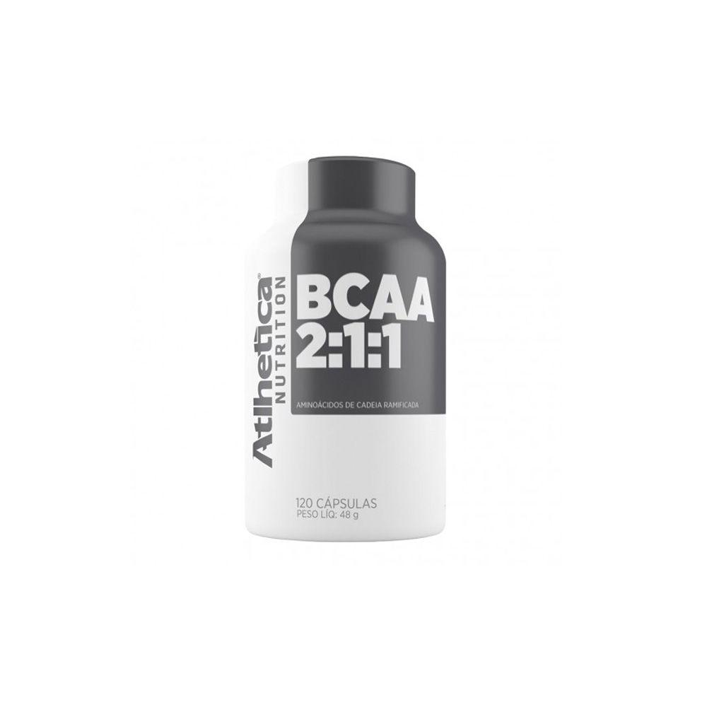 BCAA 2:1:1 120caps - Atlhetica Nutrition