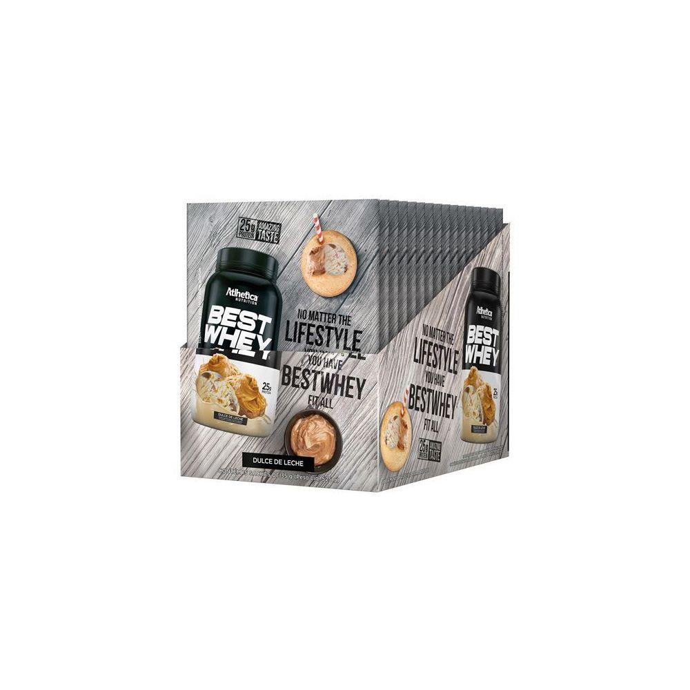 Best Whey sache com 35gr - Atlhetica Nutrition