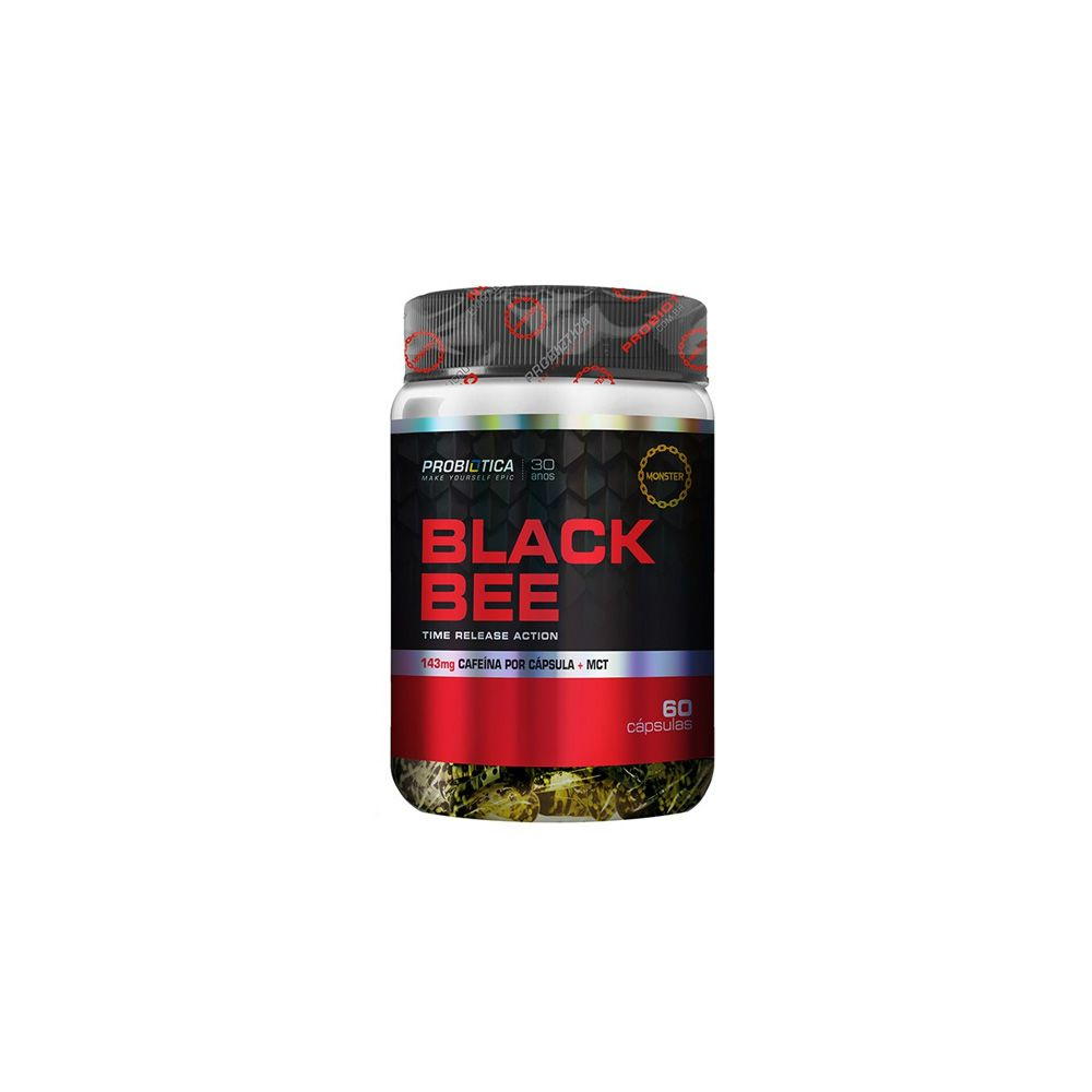 Black Bee 60 caps - Probiótica