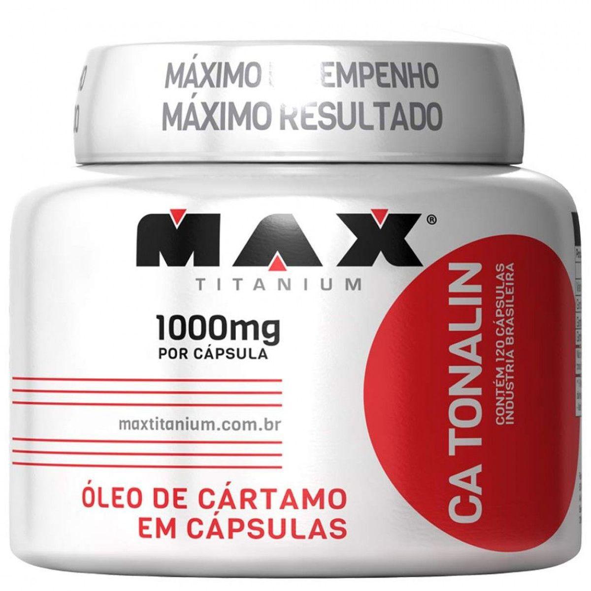 CA Tonalin (120 caps) - Max Titanium