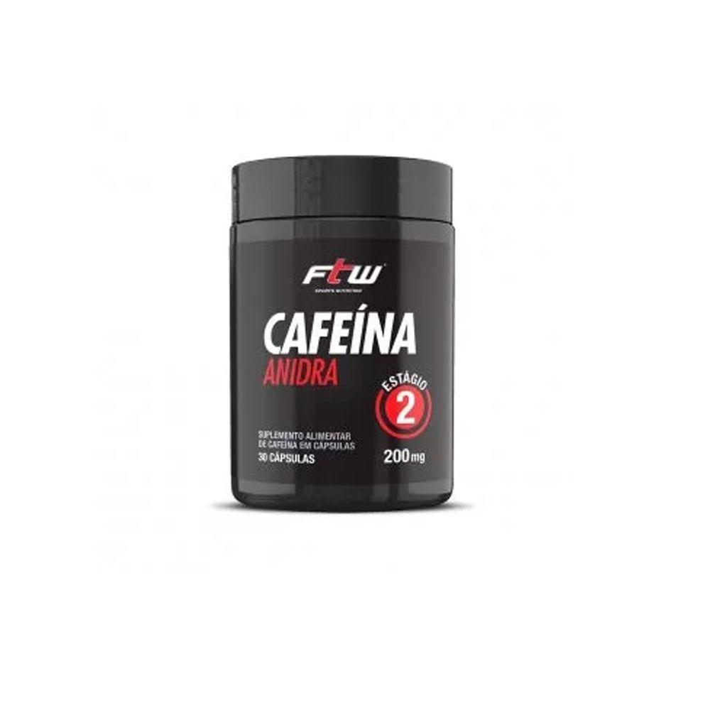 Cafeína Anidra 30 caps. - FTW