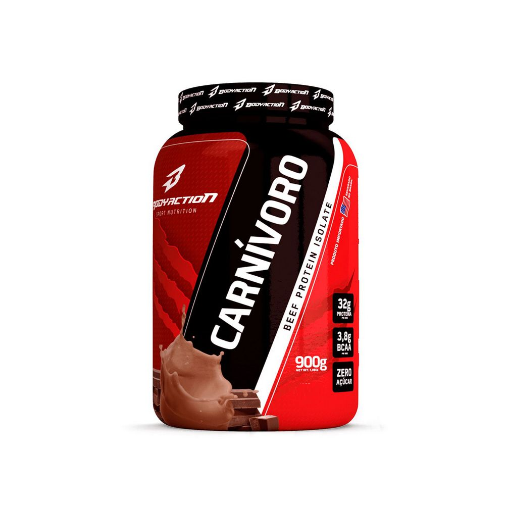Carnivoro Beef Protein Isolate 900gr - Body Action