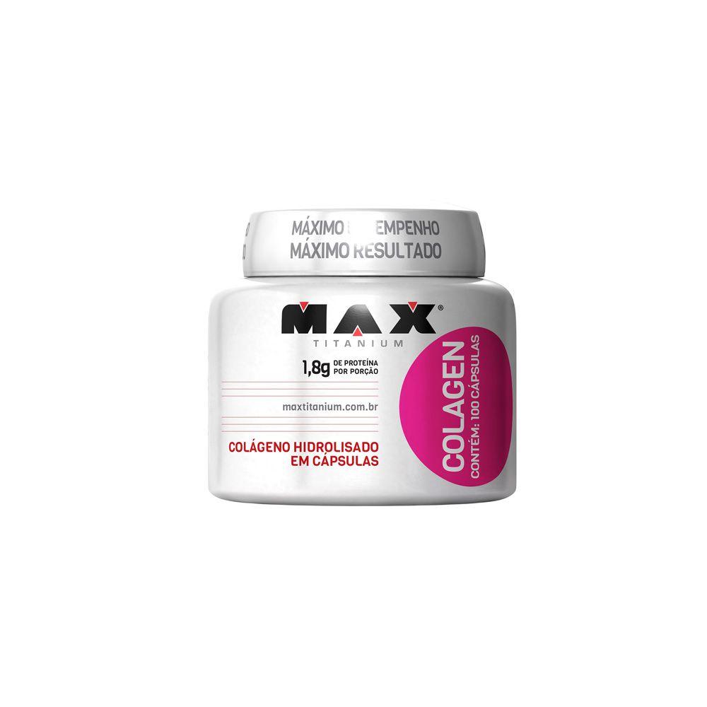 Colágeno 100 caps - Max Titanium