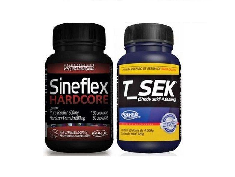Combo Sineflex Hardcore + T-sek - Power Supplements