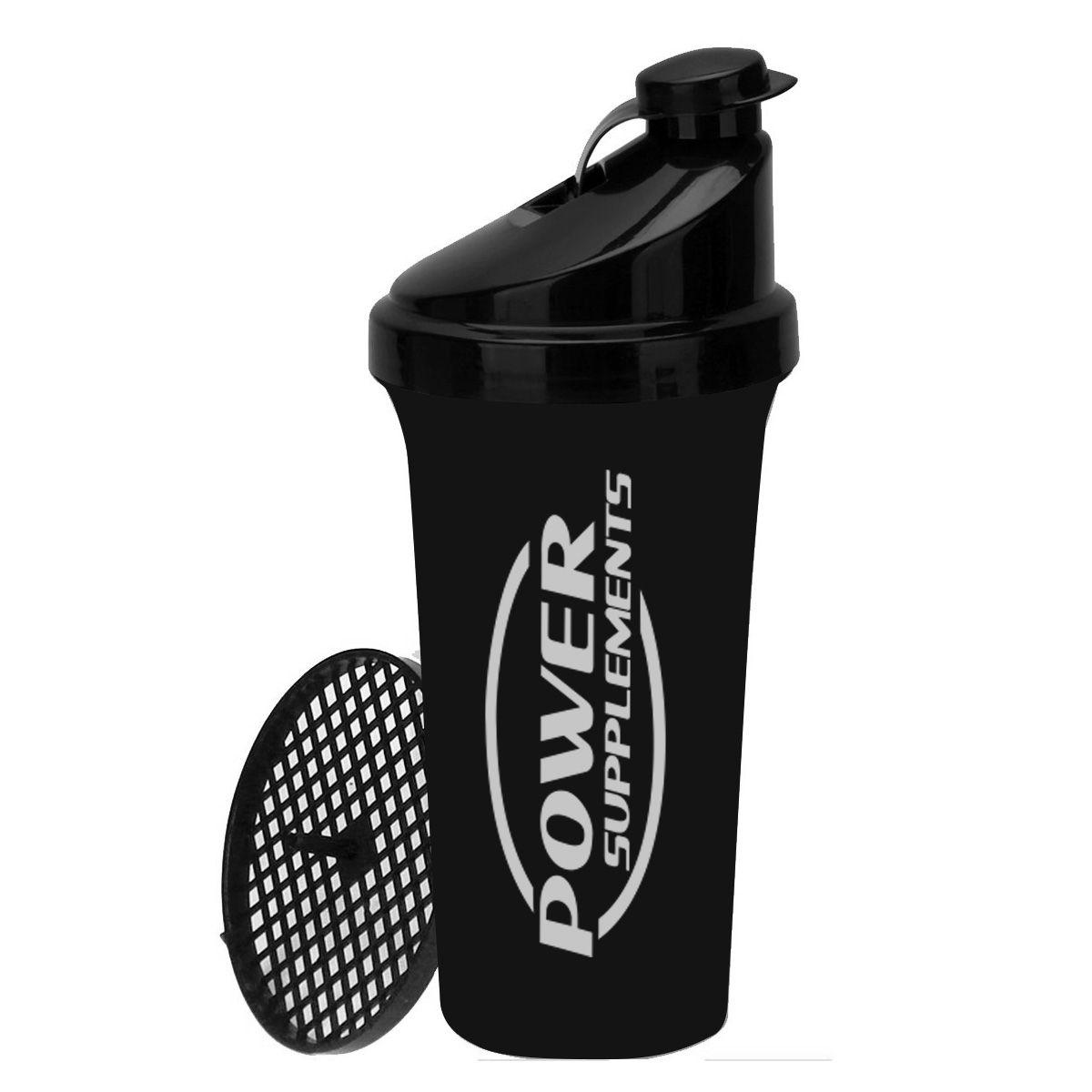 Coqueteleira Power Supplements - Preta
