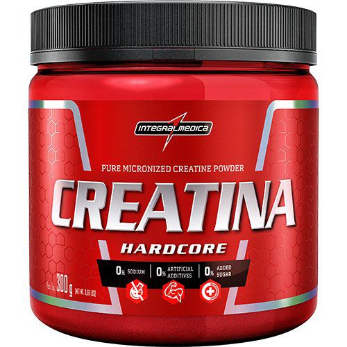 Creatina Hardcore (300g) - IntegralMédica