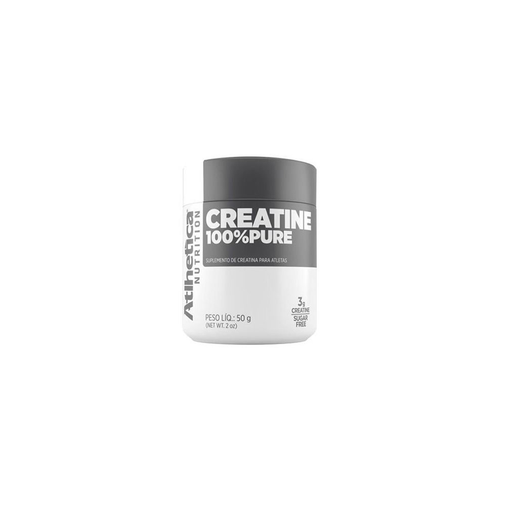 Creatine 100% pure 100g - Atlhetica Nutrition