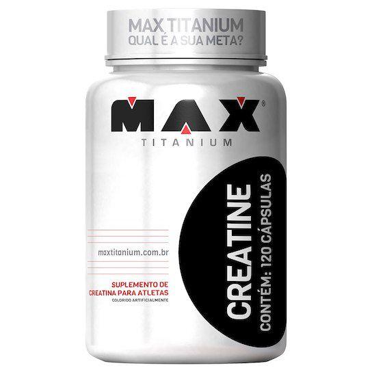 Creatine (120 caps) - Max Titanium