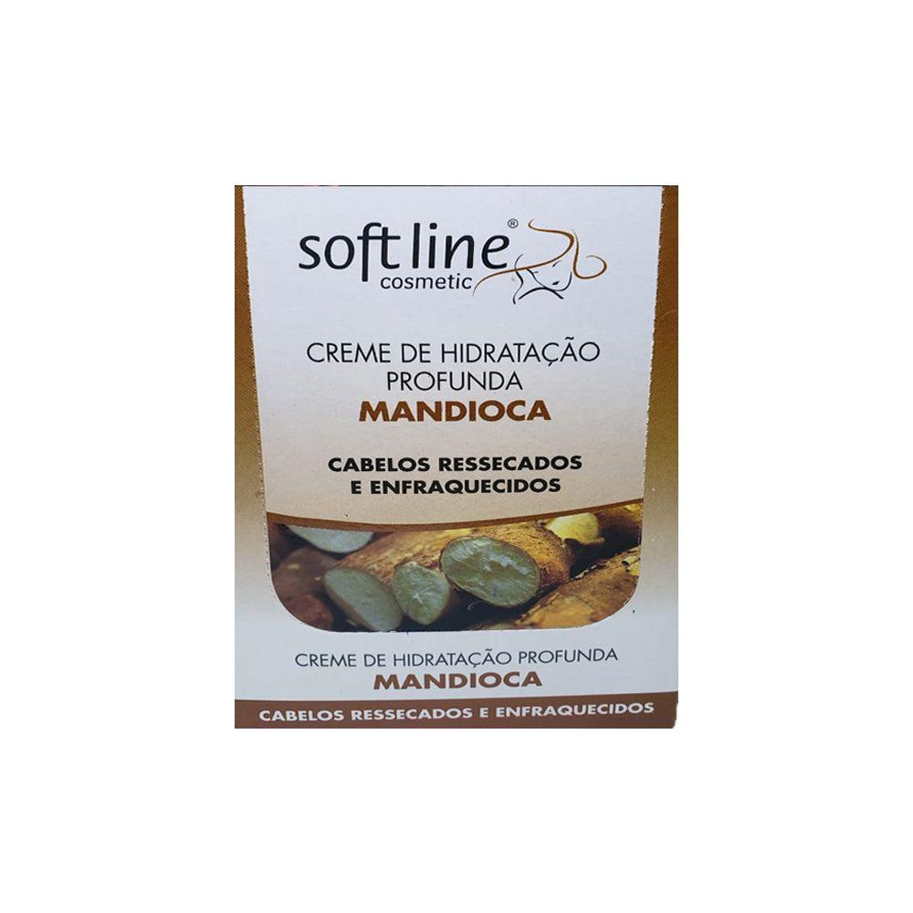 Creme de Hidratação profunda Mandioca sache 50gr - Soft Line