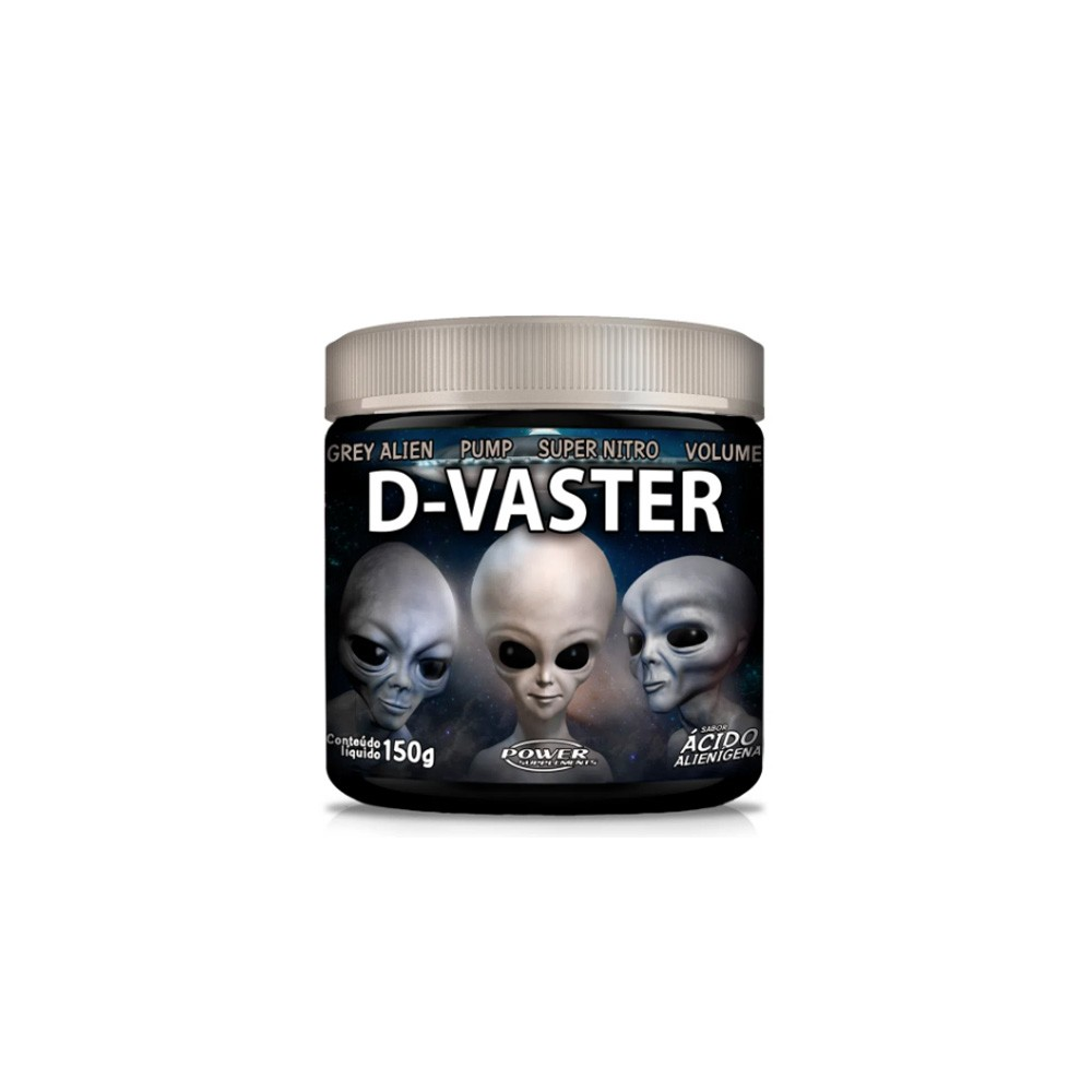 D-Vaster Grey 150g - Power Supplements