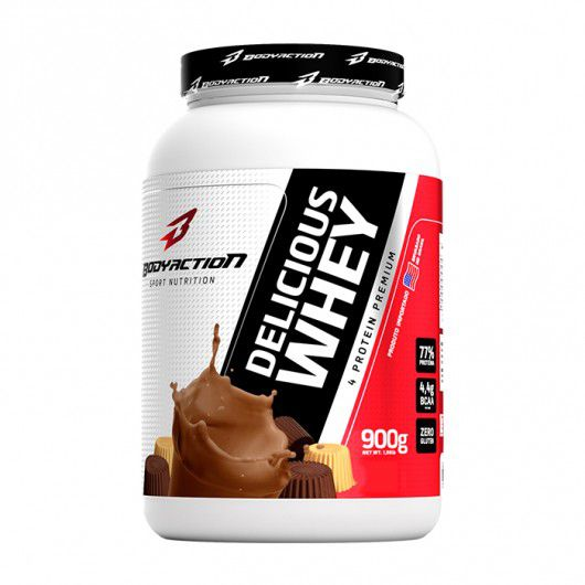 Delicious Whey (900g) - Body Action