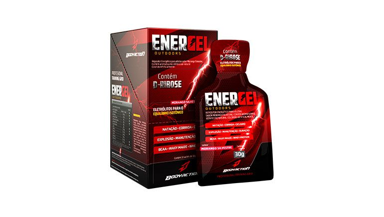 Energel Outdoors (10 sachês com 30g) - Body Action