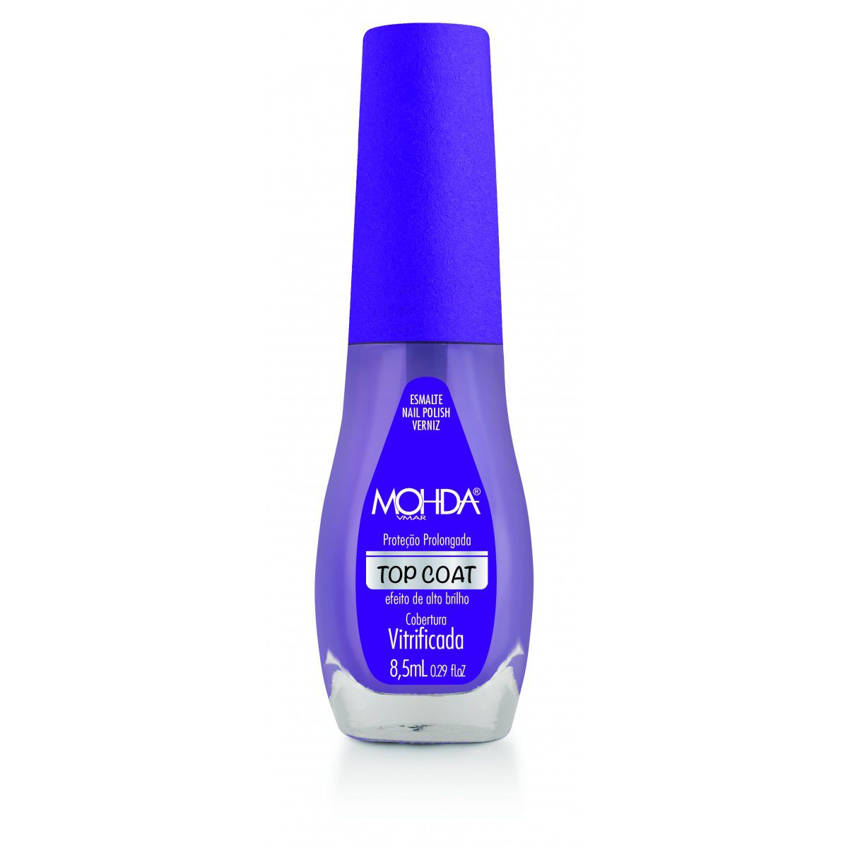 Esmalte Top Coat  - 8,5ml - Mohda