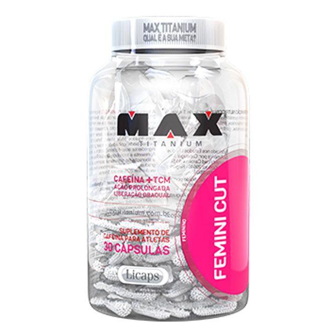 Femini Cut (30 caps) - Max Titanium