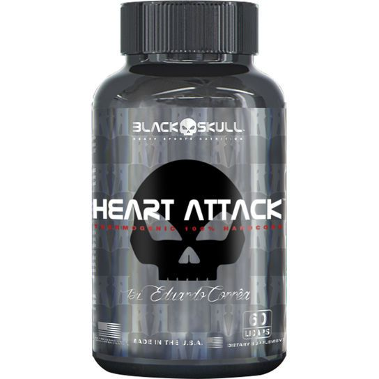 Heart Attack (60 caps) - Black Skull