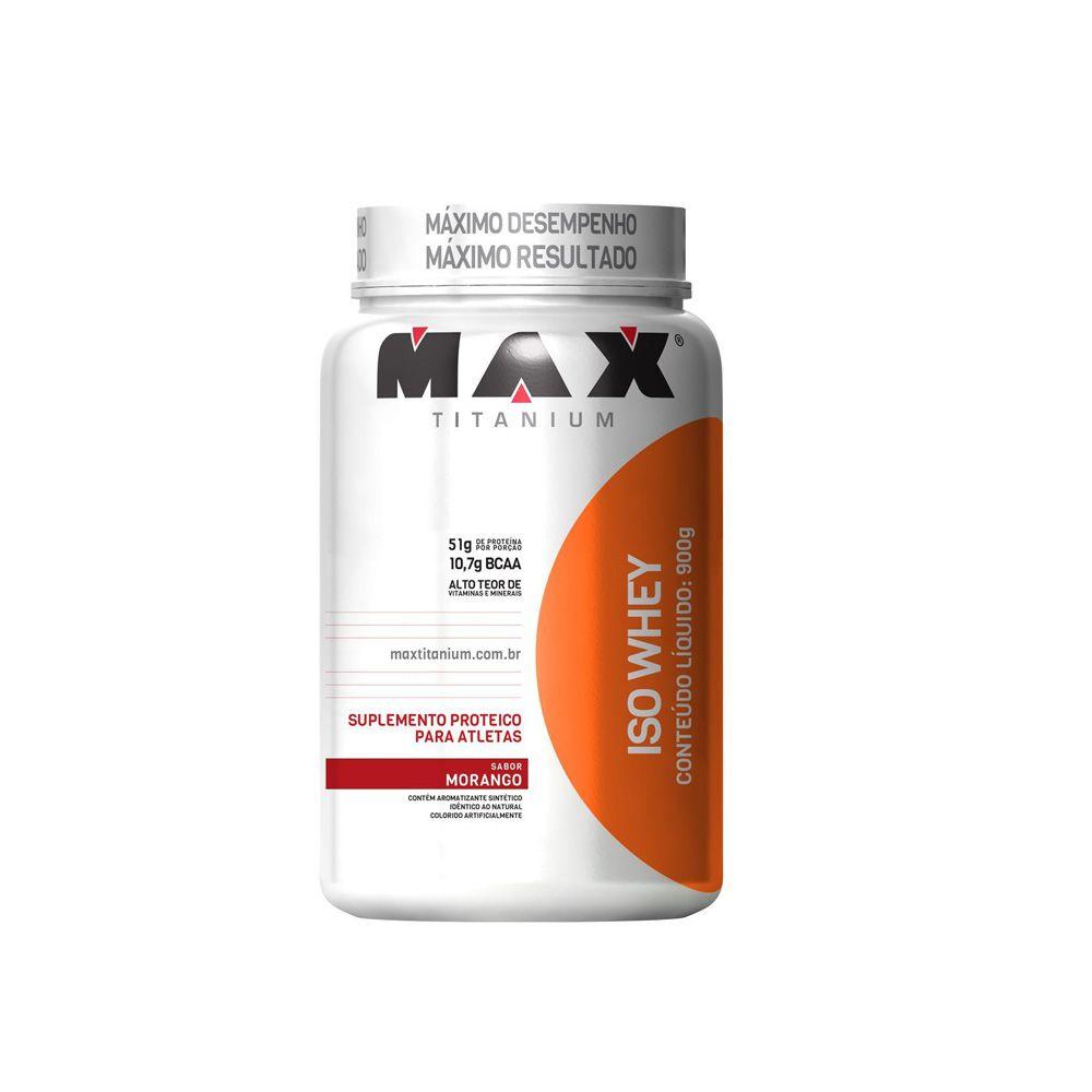 Iso Whey 900gr - Max Titanium