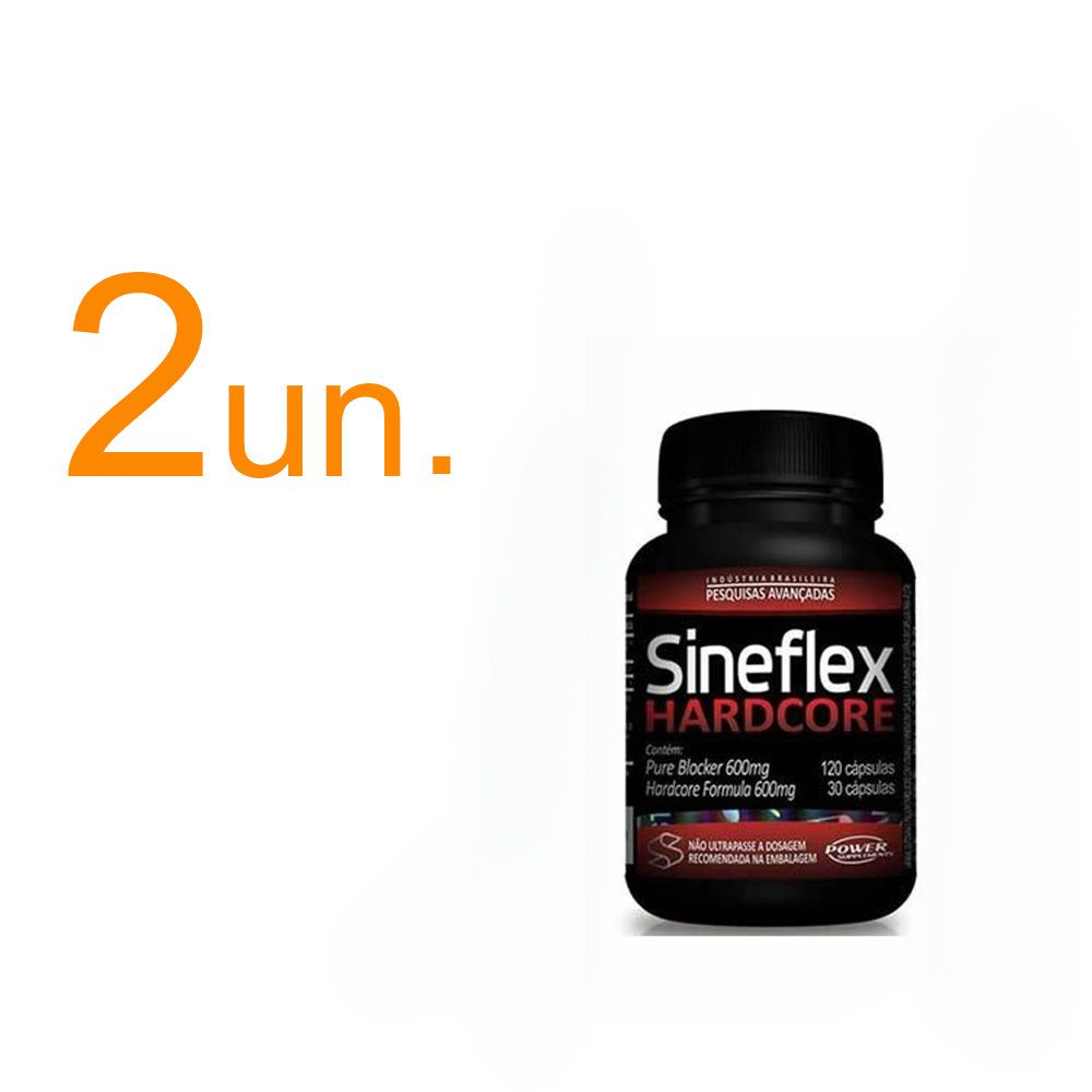 Kit com 2 - Sineflex Hardcore - Power Supplements