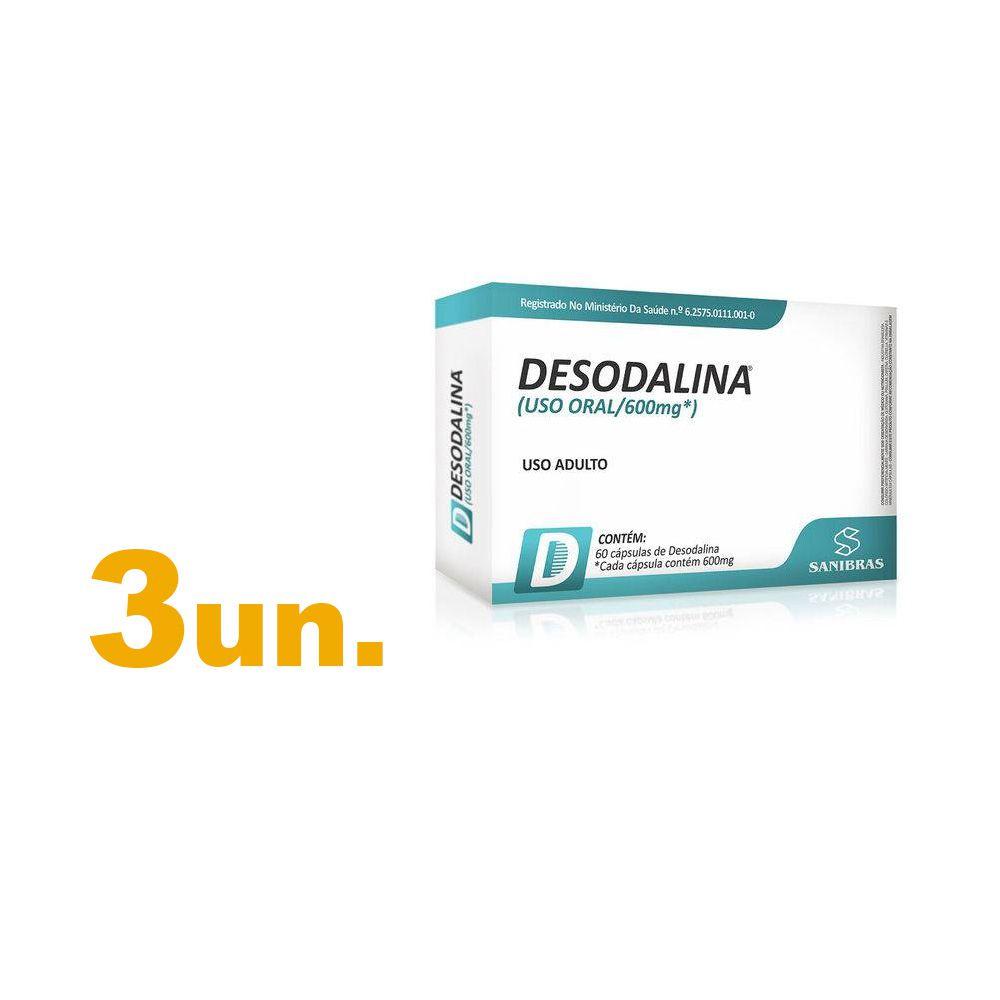 Kit com 3 - Desodalina - Sanibras - Único
