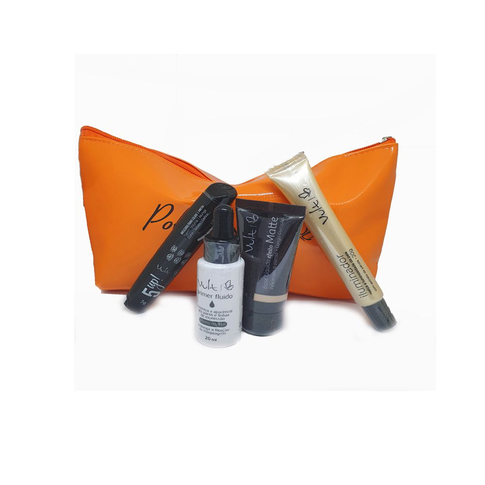 Kit Maquiagem Vult - 4 produtos - Esmeralda