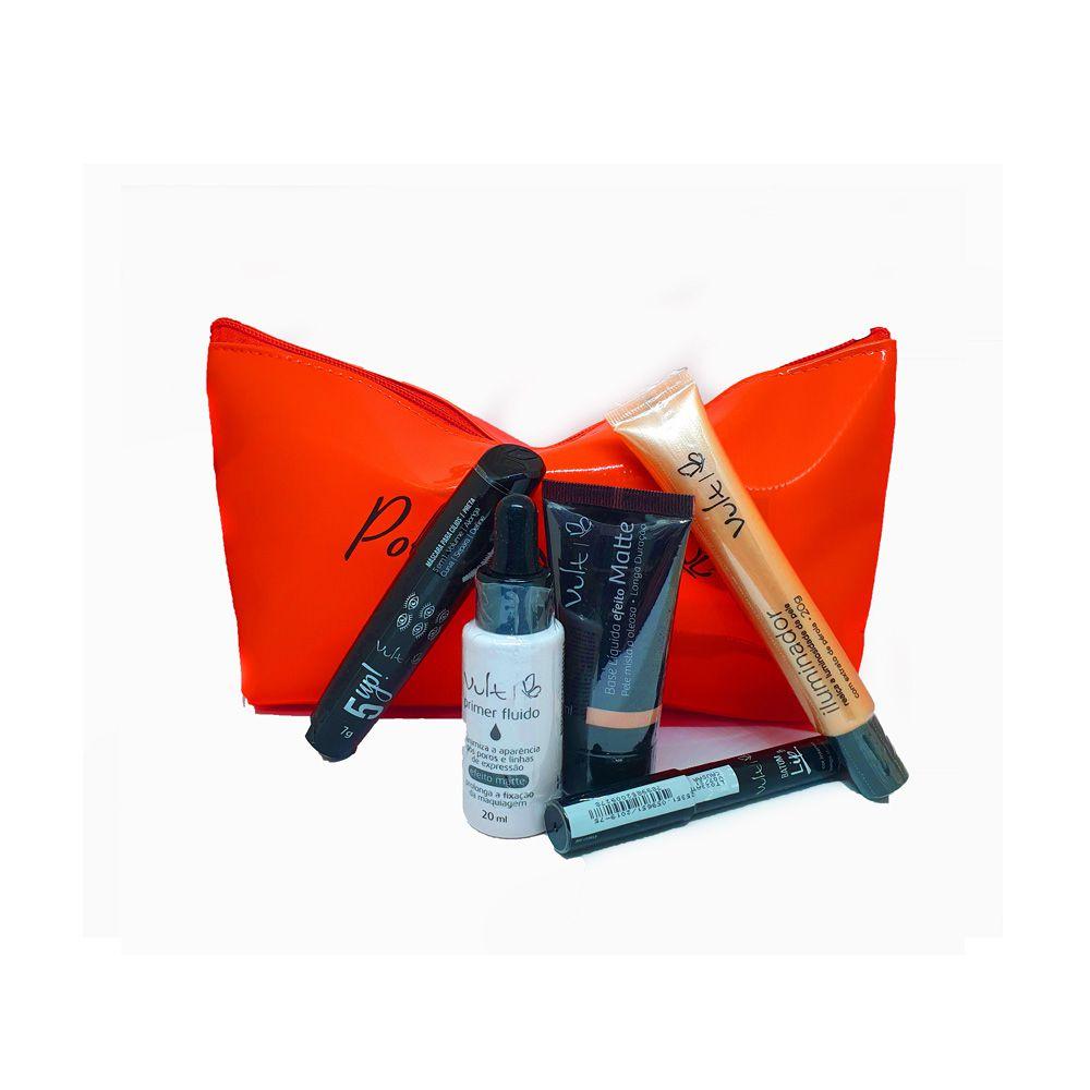 Kit Maquiagem Vult - 5 produtos - Rubi