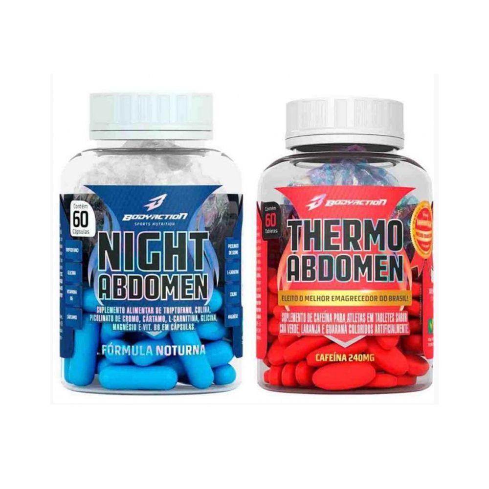 Kit Thermo Abdomen E Night Abdomen - Bodyaction