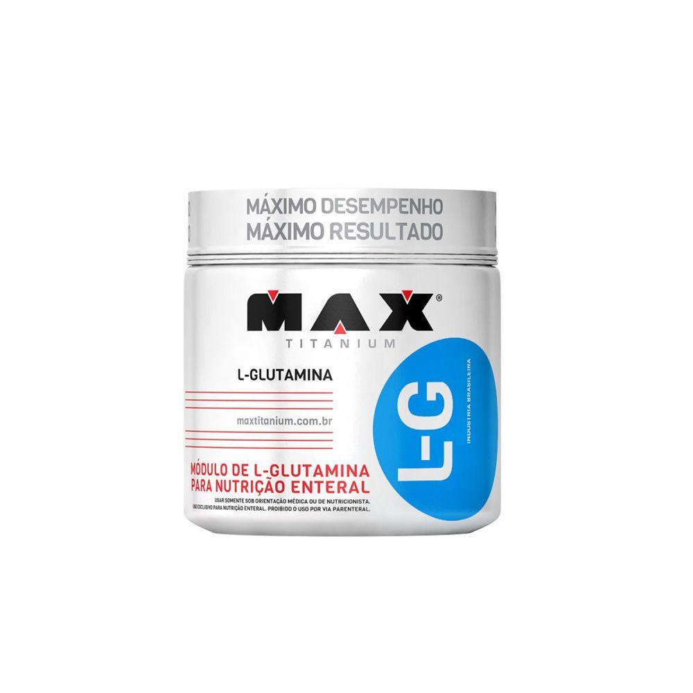 Glutamina LG  150gr - Max Titanium