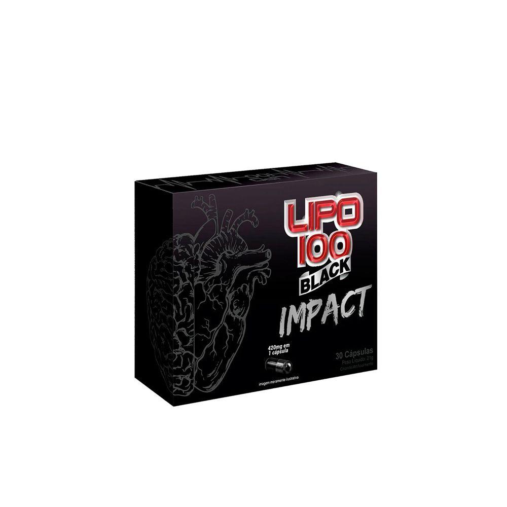 Lipo 100 Black Impact (30 caps) - Intlab