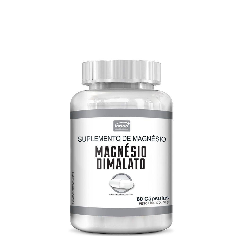 Magnésio Dimalato (60 caps) - Intlab
