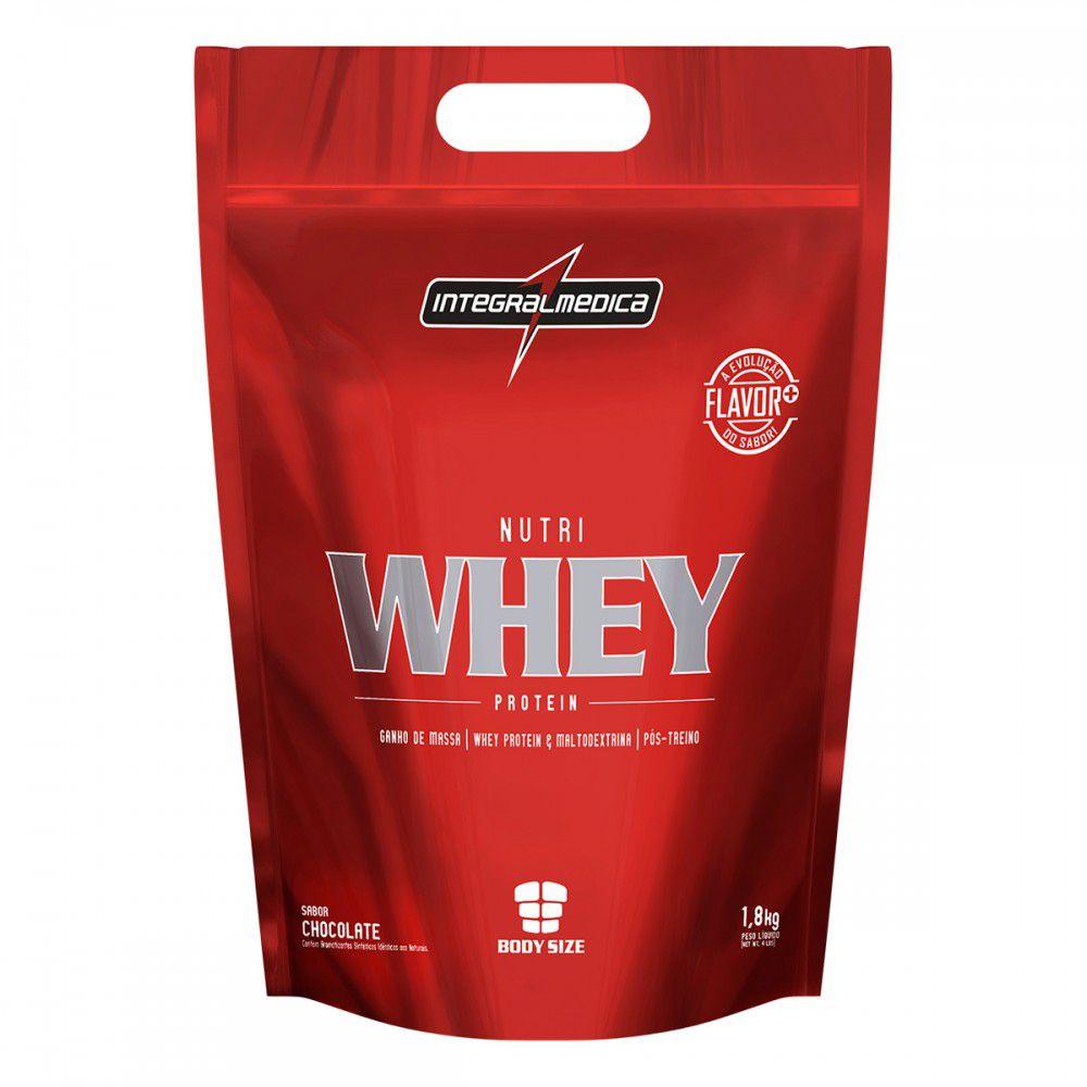 Nutri Whey Protein Refil (1,8kg) - IntegralMédica