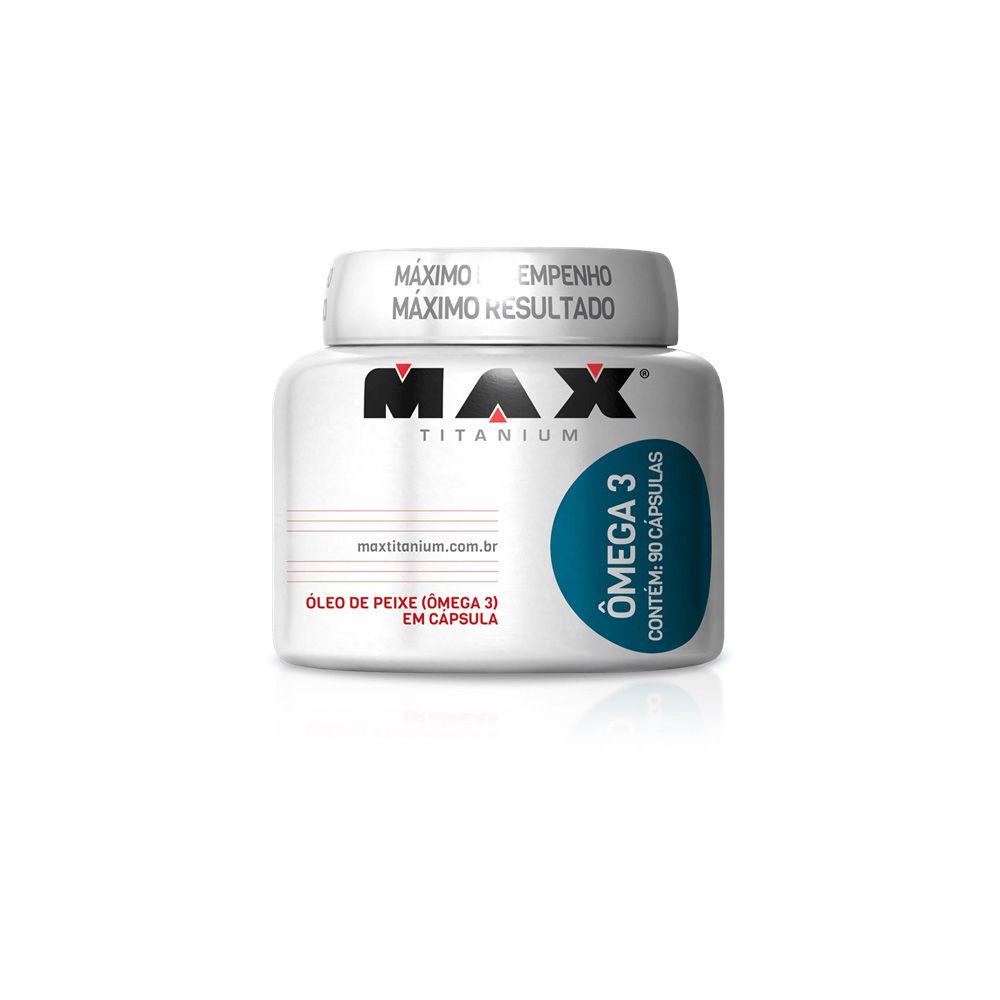 Omega 3 90caps. - Max Titanium