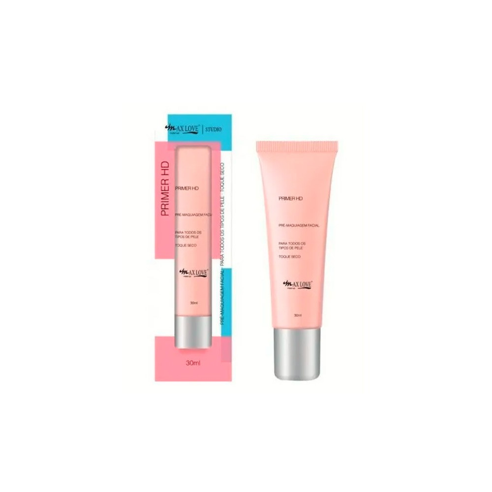 Primer HD Bisnaga 30ml - Max Love