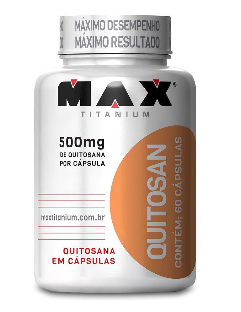 Quitosan (60 caps) - Max Titanium