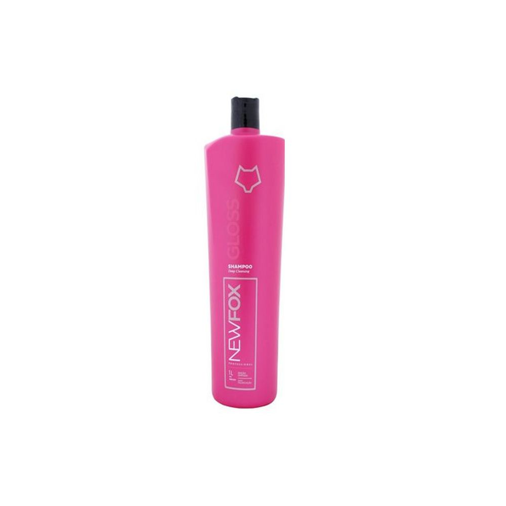 Shampoo Limpeza Profunda New Fox Gloss (1L) - Fox