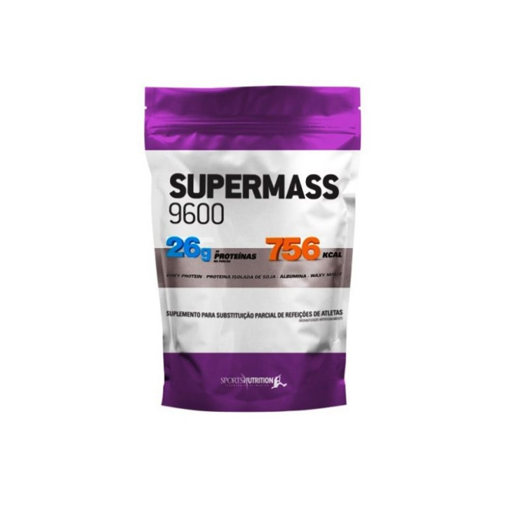Super Mass 9600 908gr Chocolate - Sports Nutrition