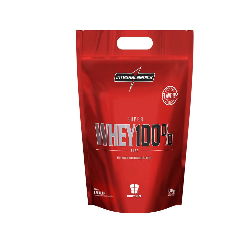 Super Whey 100% Pure 1,8kg - IntegralMédica Refil