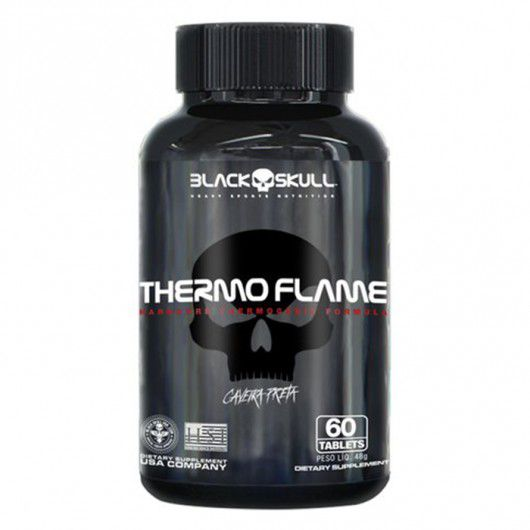 Thermo Flame Caveira preta (120 tabs) - Black Skull