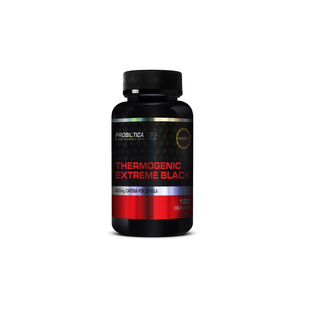 Thermogenic Extreme Black 120 caps. - Probiótica
