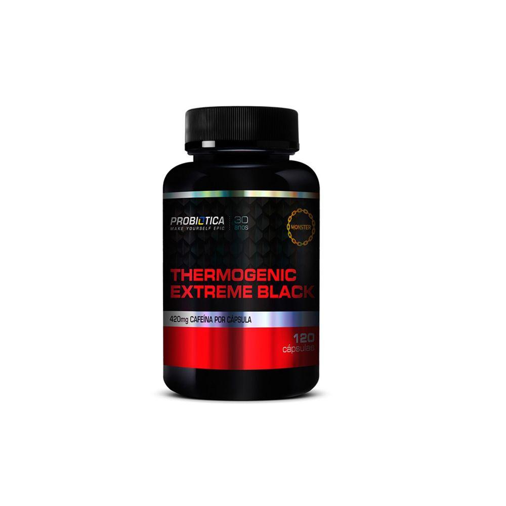 Thermogenic Extreme Black (120 caps) - Probiótica